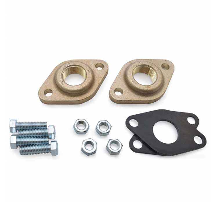 "Bronze Flanges - 3/4"", 1"""