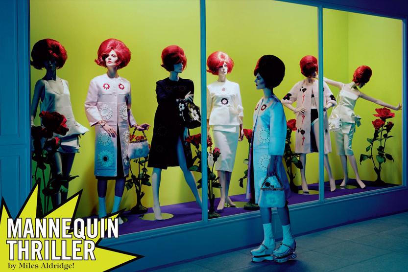 """""""Mannequin Thriller"""", Vogue Italia"""