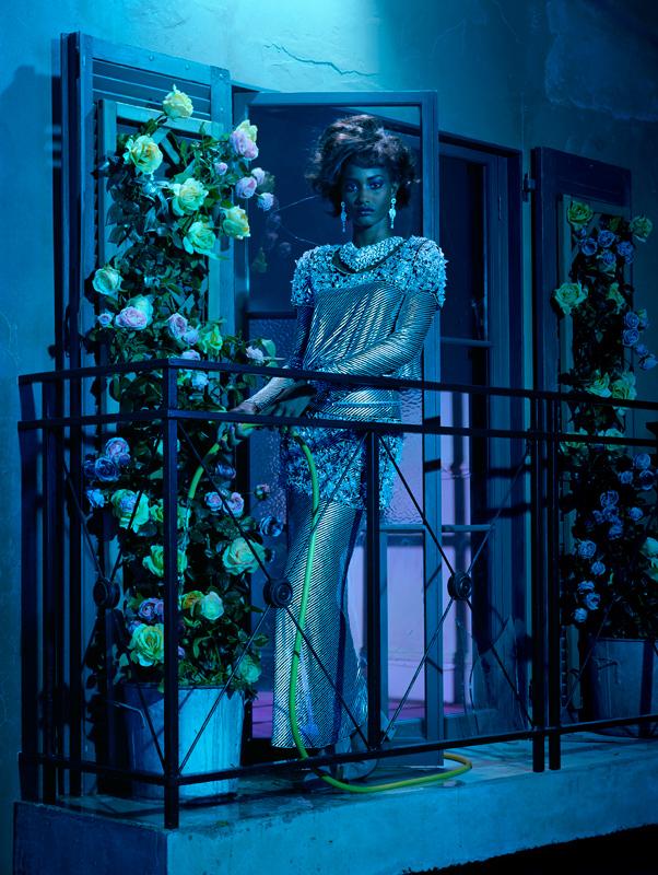 """""""A Precious Style, Vogue Italia"""
