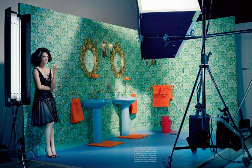 Jessica Brown Findlay, Vogue Italia