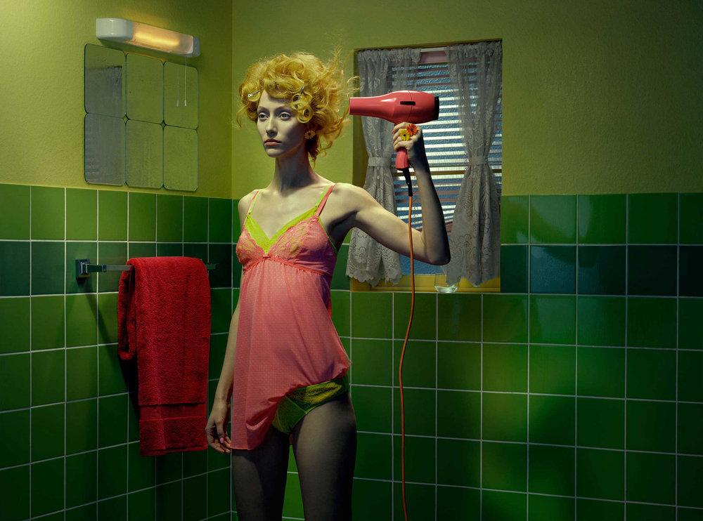 """""""Chromo Thriller"""" Vogue Italia"""