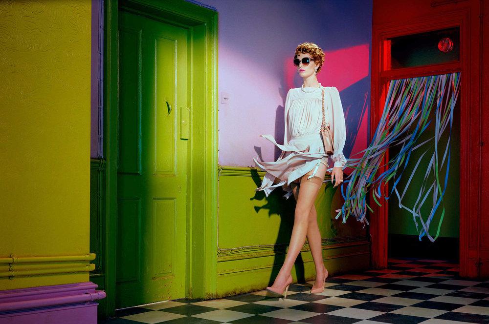 """Labyrniths"" Vogue Italia"