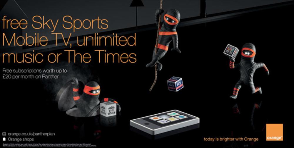 Orange & Sky Sports