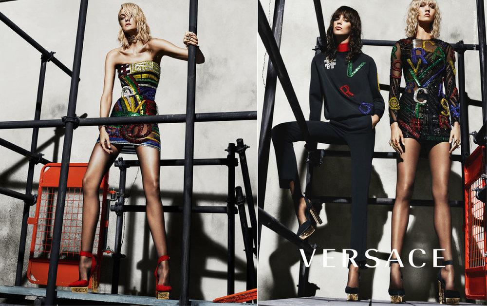 Versace Fall/Winter Campaign 2015
