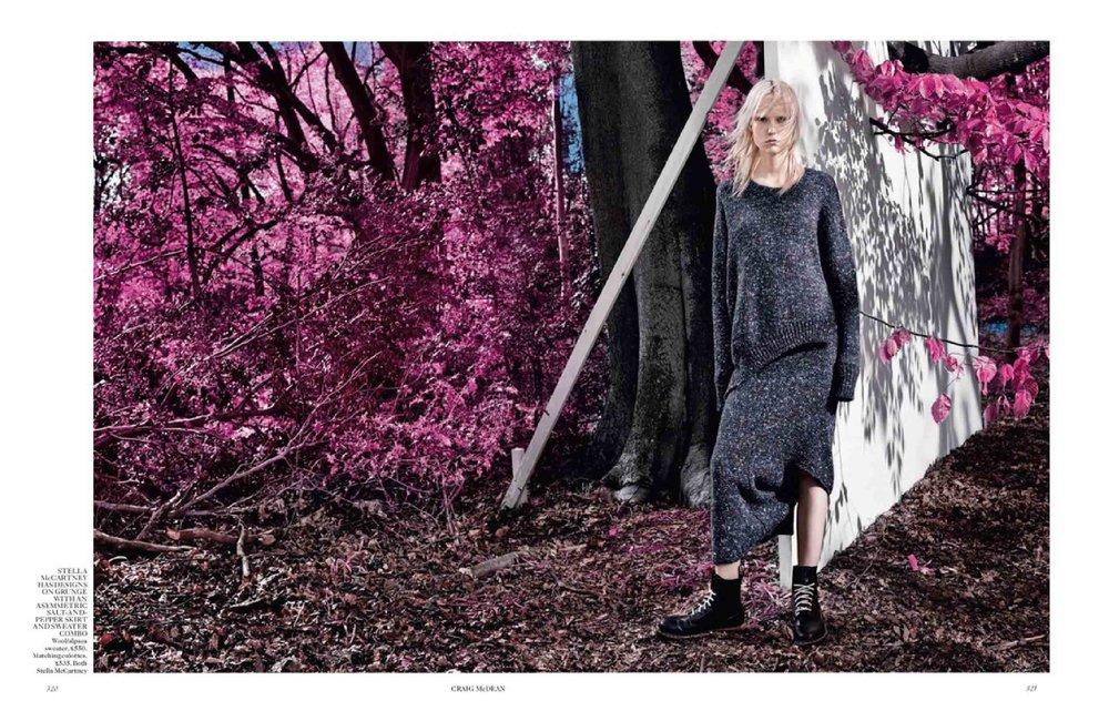 """Cold Comfort"", British Vogue"