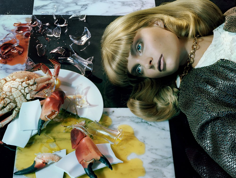 Agnete Hegelund Vogue Italia Beauty Cover