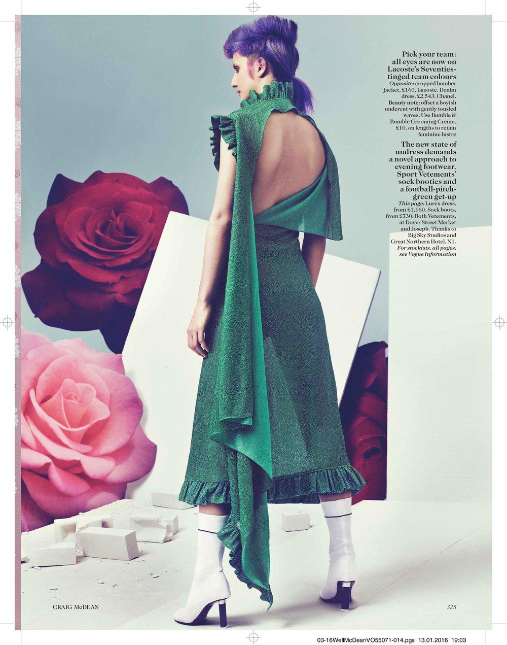"""Game, Set, Match"", British Vogue"