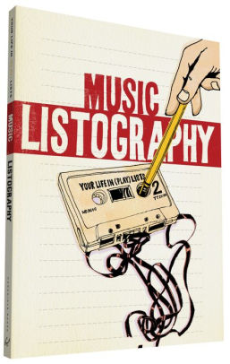 Music Listography - This awesome journal boasts tons of creative music-related lists (from your top 20 favorite albums to your list of make-out songs) you get to fill in after scouring your Spotify library for hours. The illustrations in here are beautiful too.