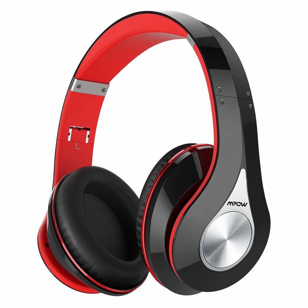 Bluetooth Headphones - These sleek, high-tech headphones have full Bluetooth capabilities, allows for hands-free talk, has comfortable cushioned design, and can be folded up for easy travel. They come in six other colors, too, but keep in mind that prices vary.