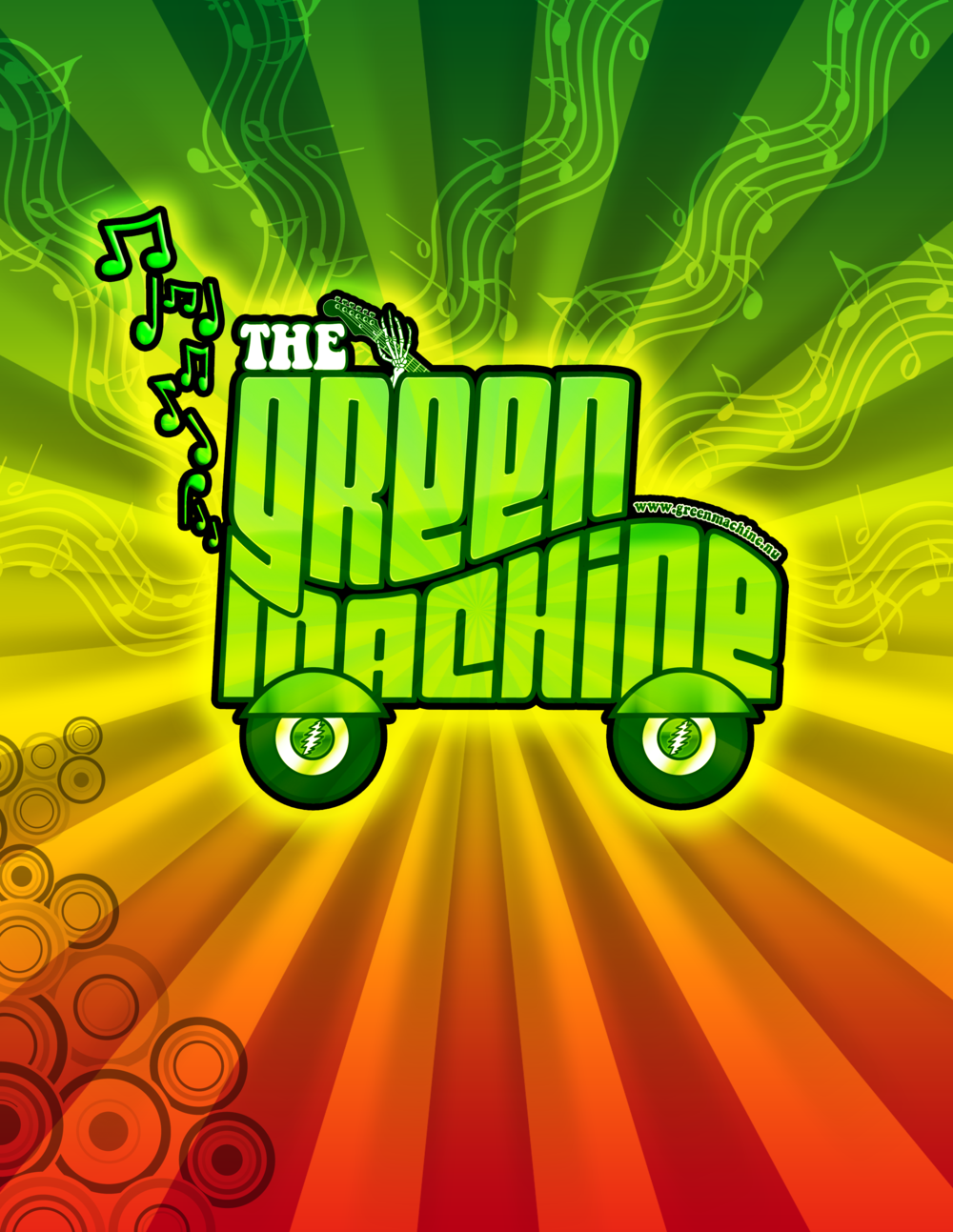 - Rock out with The Green Machine at Queen's Inn and Wine & Beer Garden. The bar opens at 4:00 pm and music will begin at 6:30 pm. Food is available to purchase at this event. No outside food or beverages permitted. 21+ only please. LEARN MORE