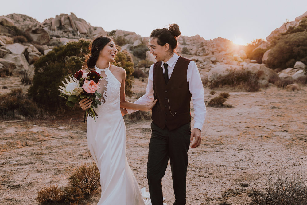 boho wedding baja california