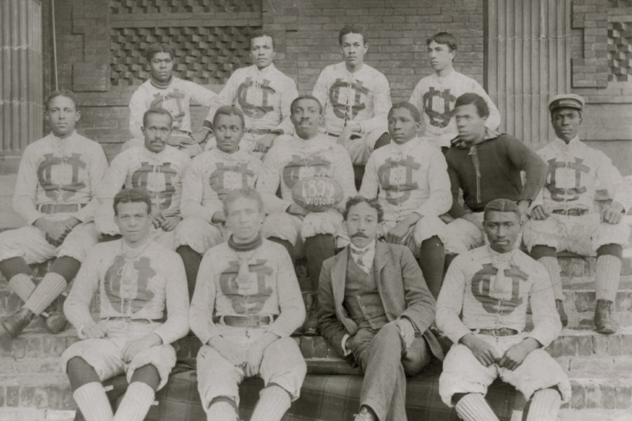 Football Team at Claflin University in 1899.jpg