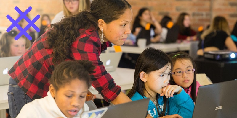 Girls Learning Code: Generative Art with Processing