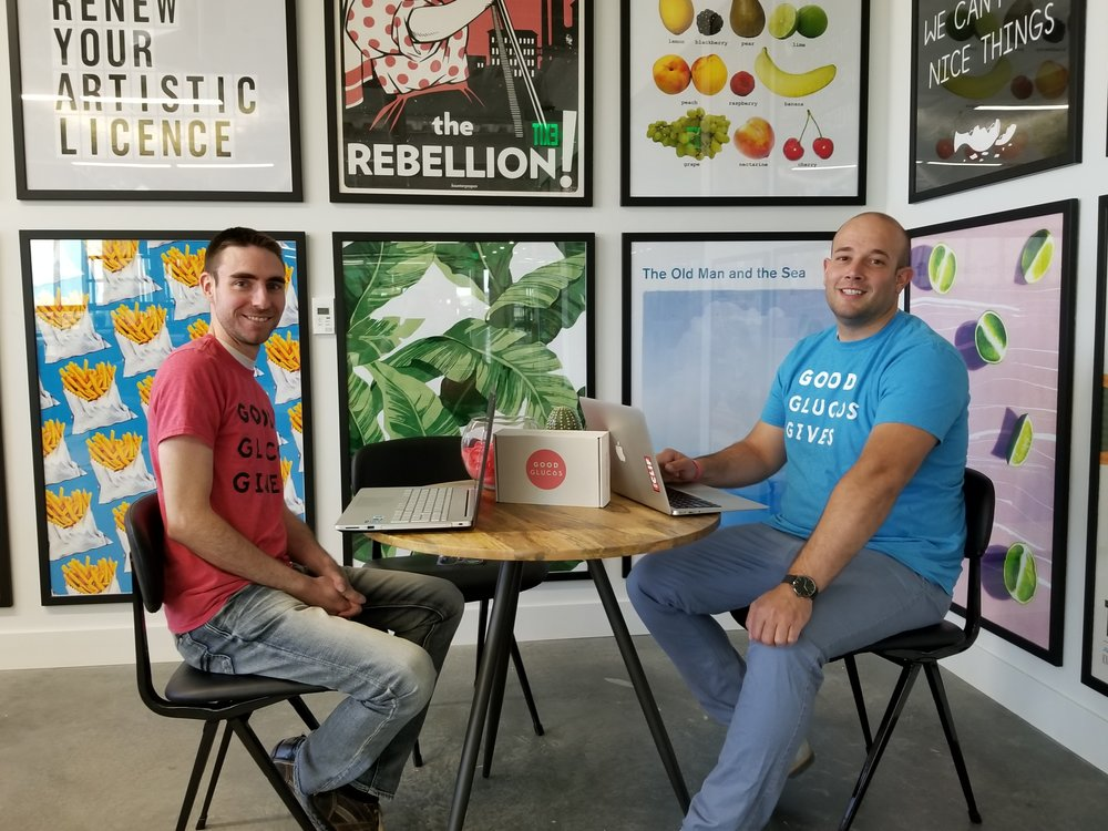 Pierrick Gélinas, CFO and  Elliot Gatt, Founder at Good Glucos