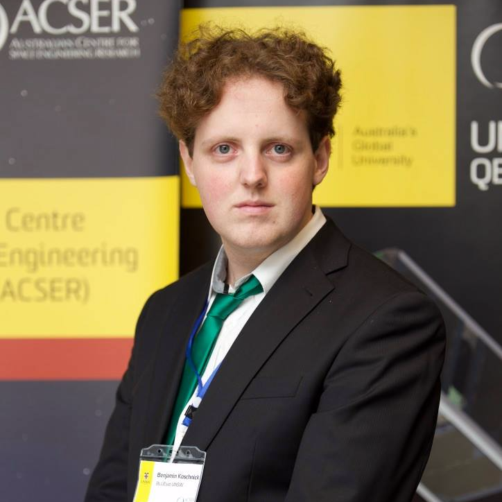 Ben Koschnick, Co-founder at Spectral Aerospace and student at the University of New South Wales in Australia