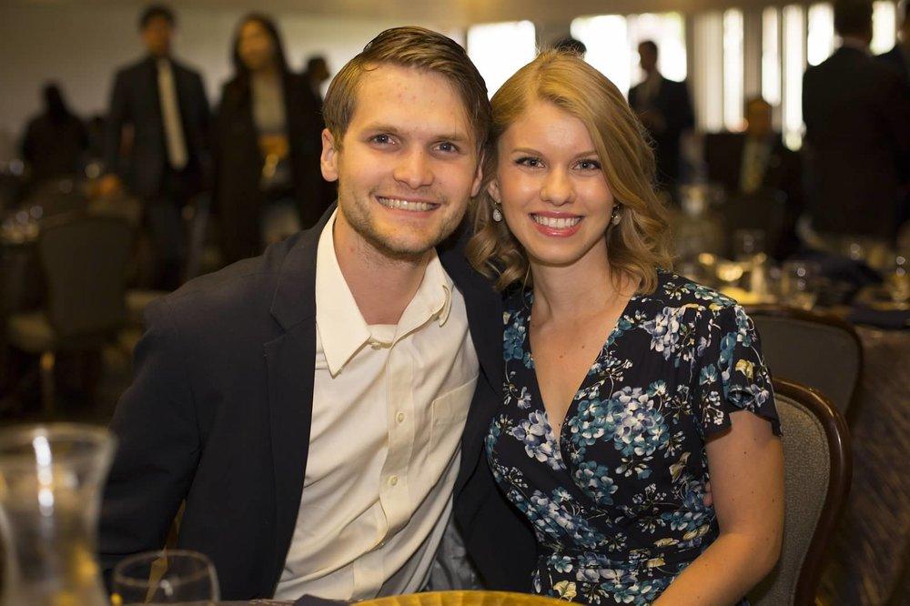 Timothy Prewitt DDS with wife Morgan