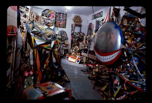 Studio in Williamsburg, Brooklyn, 1982