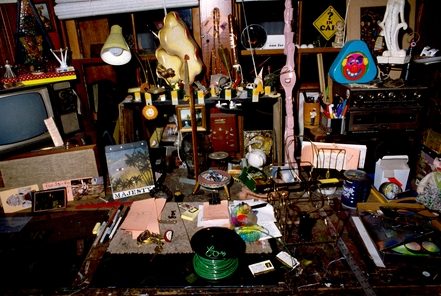Studio Desk, 1989