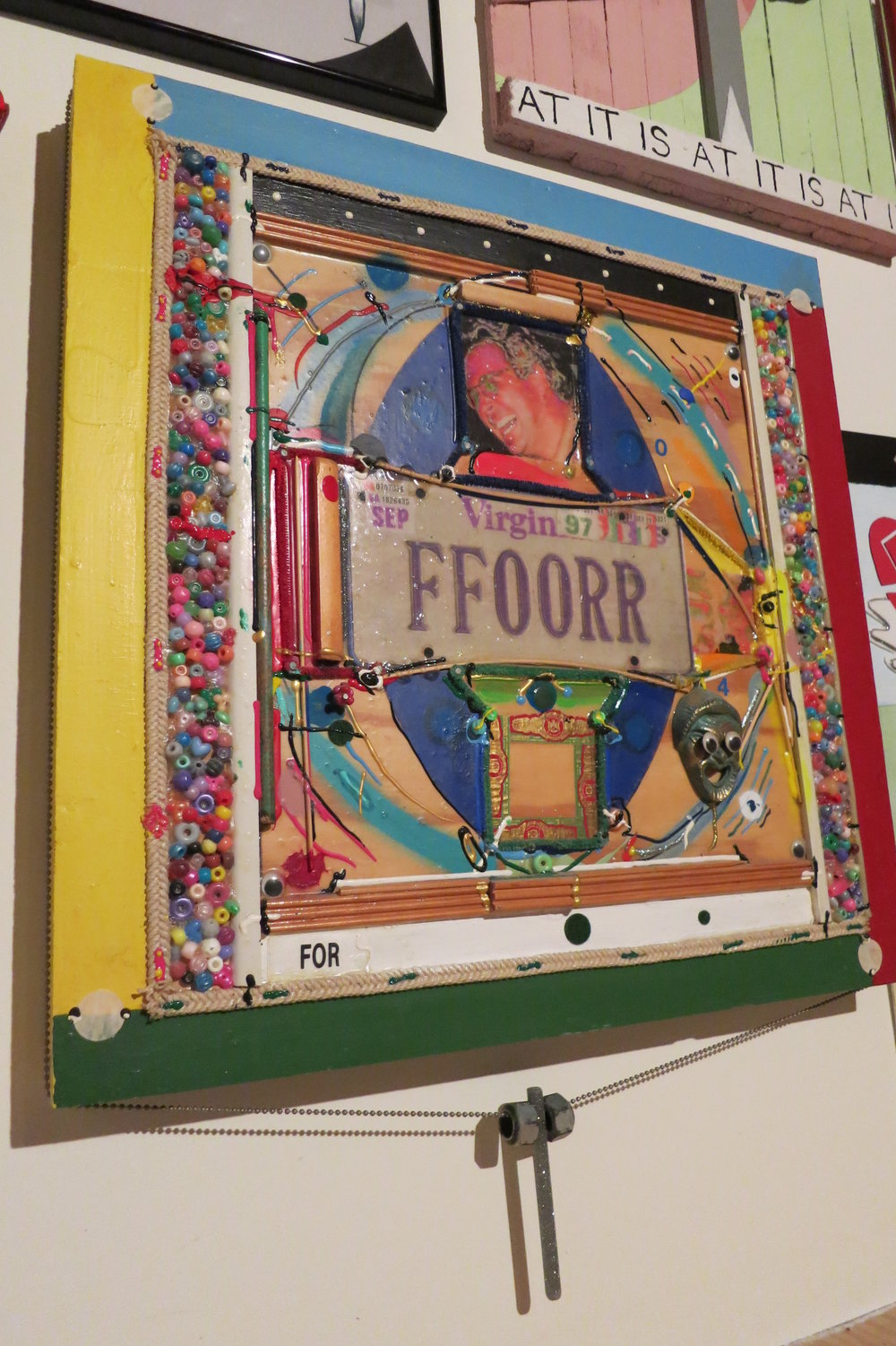 His For Plate is Full, 1997, after the original piece owned by the  Mississippi Museum of Art in Jackson, Mississippi