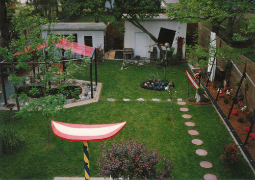 Backyard / Environment at Johnson's Virginia Beach Studio