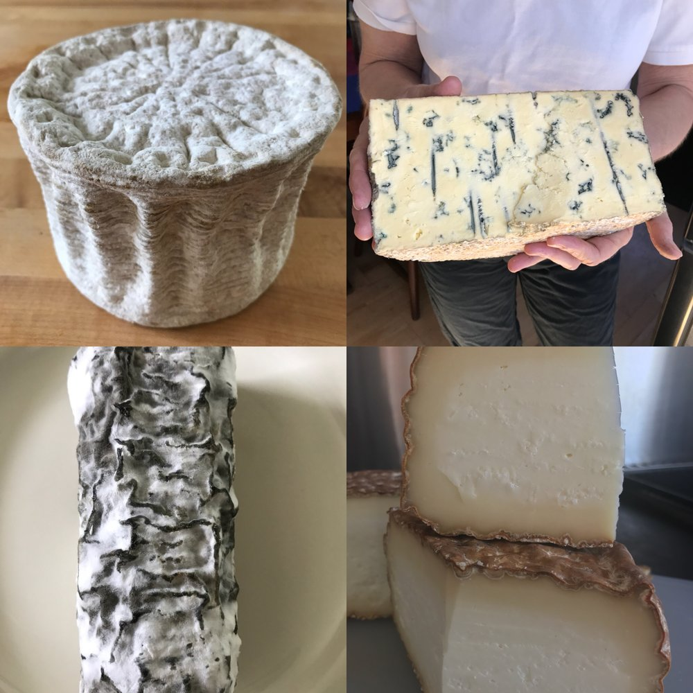 A few of our cheeses