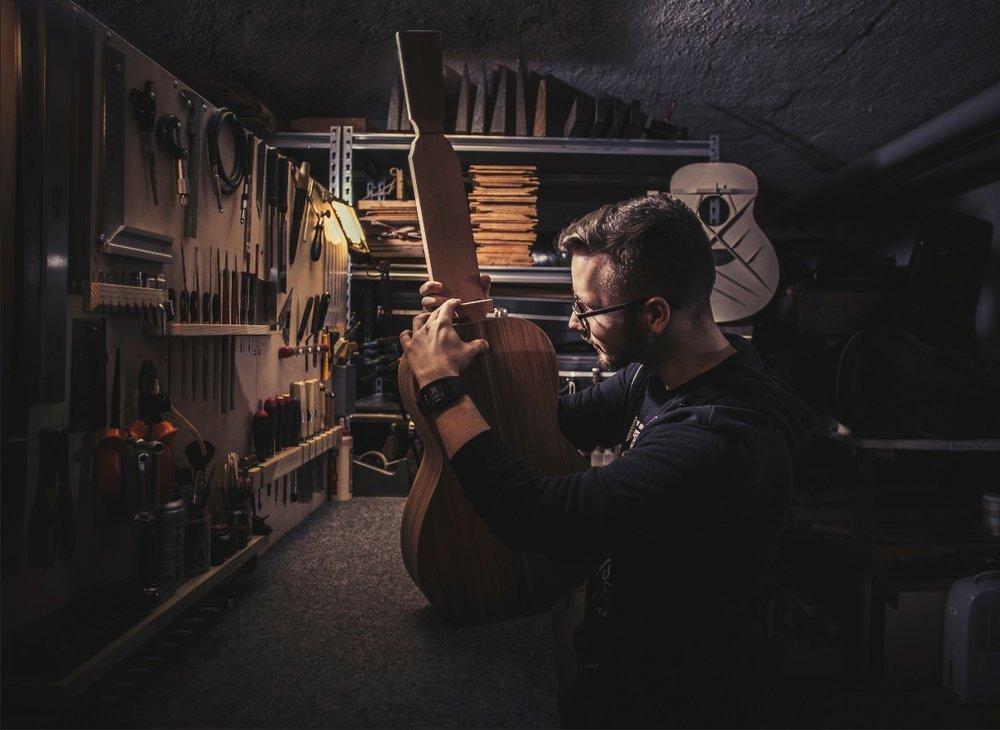 Jussi Jaakonahon pedaalilauta (Kuva: Custom Boards)