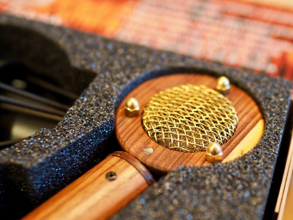Bluetone Ocean Custom Head Red tweed