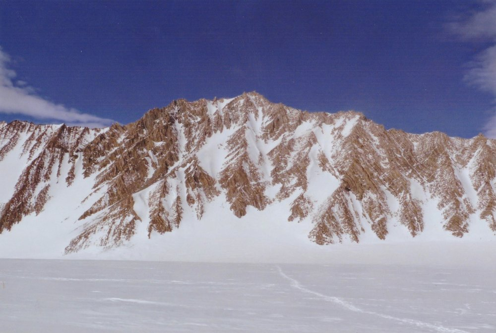 Mount Liptak in Antarctica