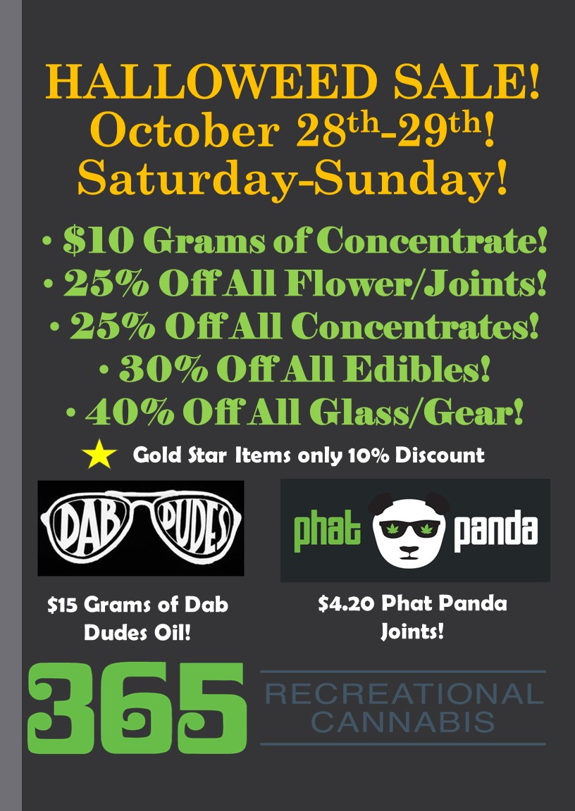 HALLOWEED SALE! This Weekend October 28th-29th!.jpg