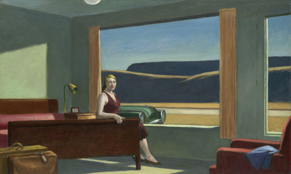 Edward Hopper, Western Motel , 1957
