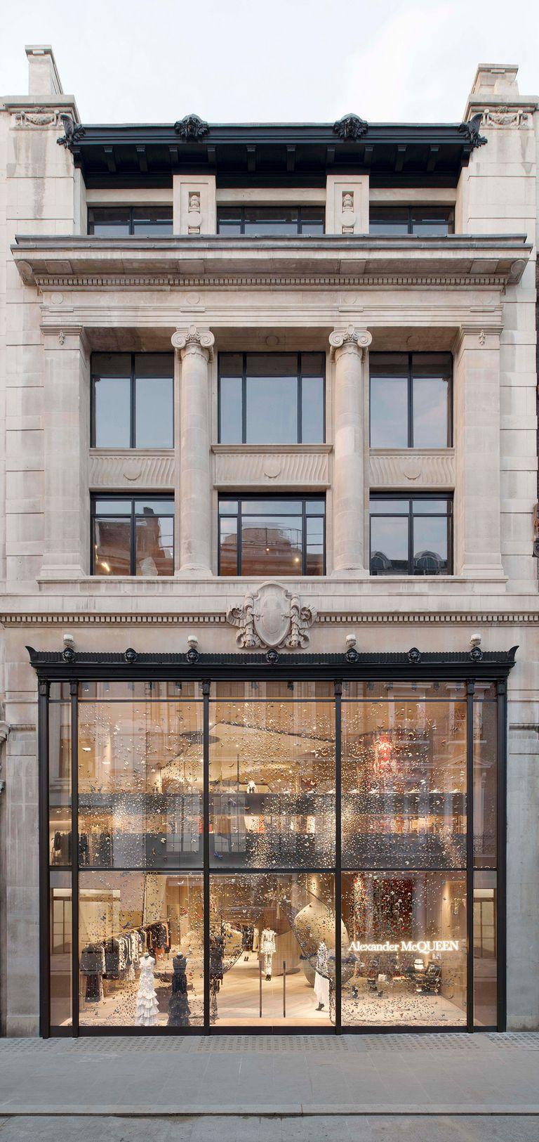 Alexander McQueen, Bond Street, Mayfair, London -  credit: Elle