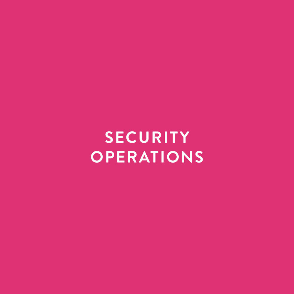 security operations SOC threat intelligence incident response incident handling penetration testing SecOps
