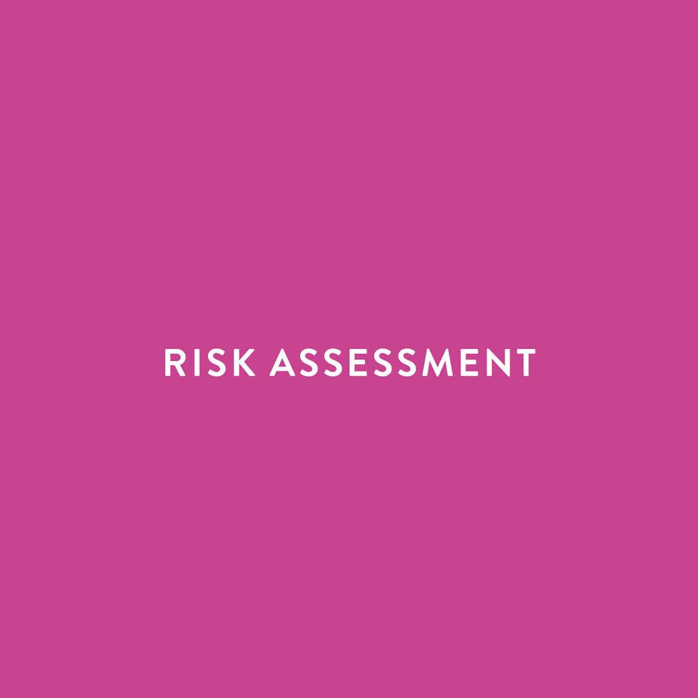 Risk management risk assessments