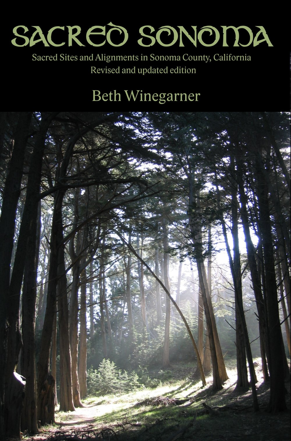 About the book - Beth Winegarner became the first to apply British and European concepts of earth energy and sacred alignments to the Sonoma County landscape when she began researching the region's historic and haunted sites in 1995. She then became the first to publish that research when she published Sacred Sonoma online in 2000, and in print in 2007. The volume is completely revised and updated with new sites, new photographs and a new introduction from the author. It also includes maps drawn by illustrator Matt Berger.Locals and travelers can carry Sacred Sonoma with them as they visit the unusual sites and alignments it describes. Take it along as you explore the beauty, history and mystery of Sonoma County.Praise for Sacred Sonoma: