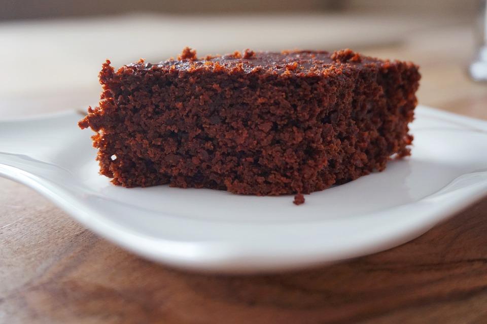 Nem chokoladekage med fårekyllingemel