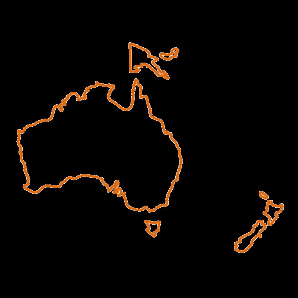 Australien - I Australien er spiselige insekter stigende i popularitet og her findes der flere fårekyllingfarme.Flere og flere gourmet restauranter eksperimenterer også med insekter på menuen. Der spises særligt voksmøllarver og honningmyrer.I New Zeeland spises der græshopper.