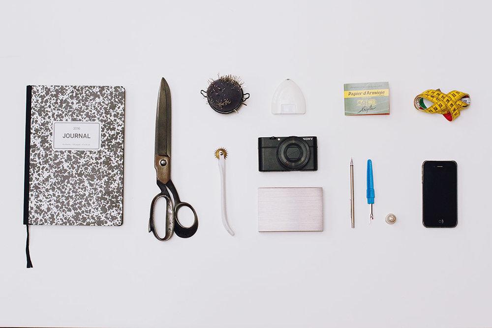 The tools of   Mansour BADJOKO