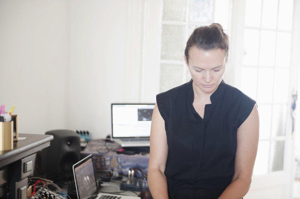 Christina VANTZOU - Composer / Visual artist