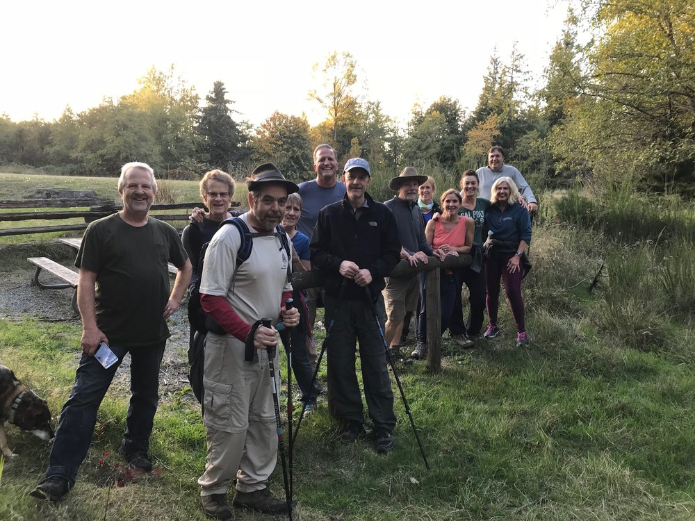 THURSDAY NIGHT HIKES HAVE RECOMMENCED. SEE EVENTS FOR WEEKLY DETAILS