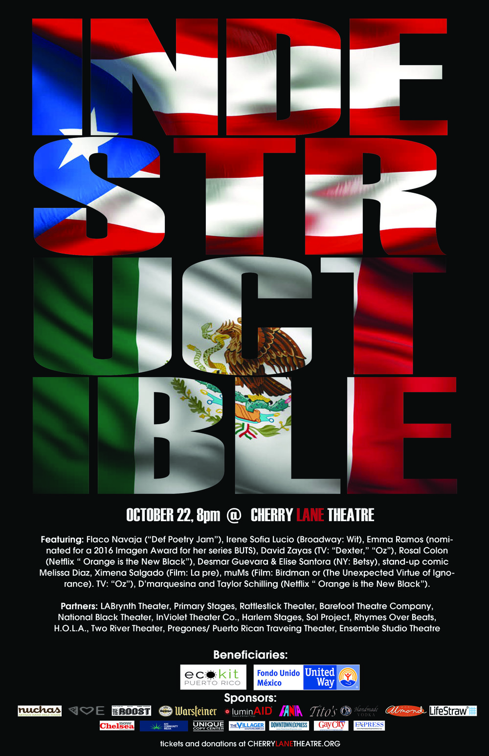 Theater artists - Acting for Puerto Rico