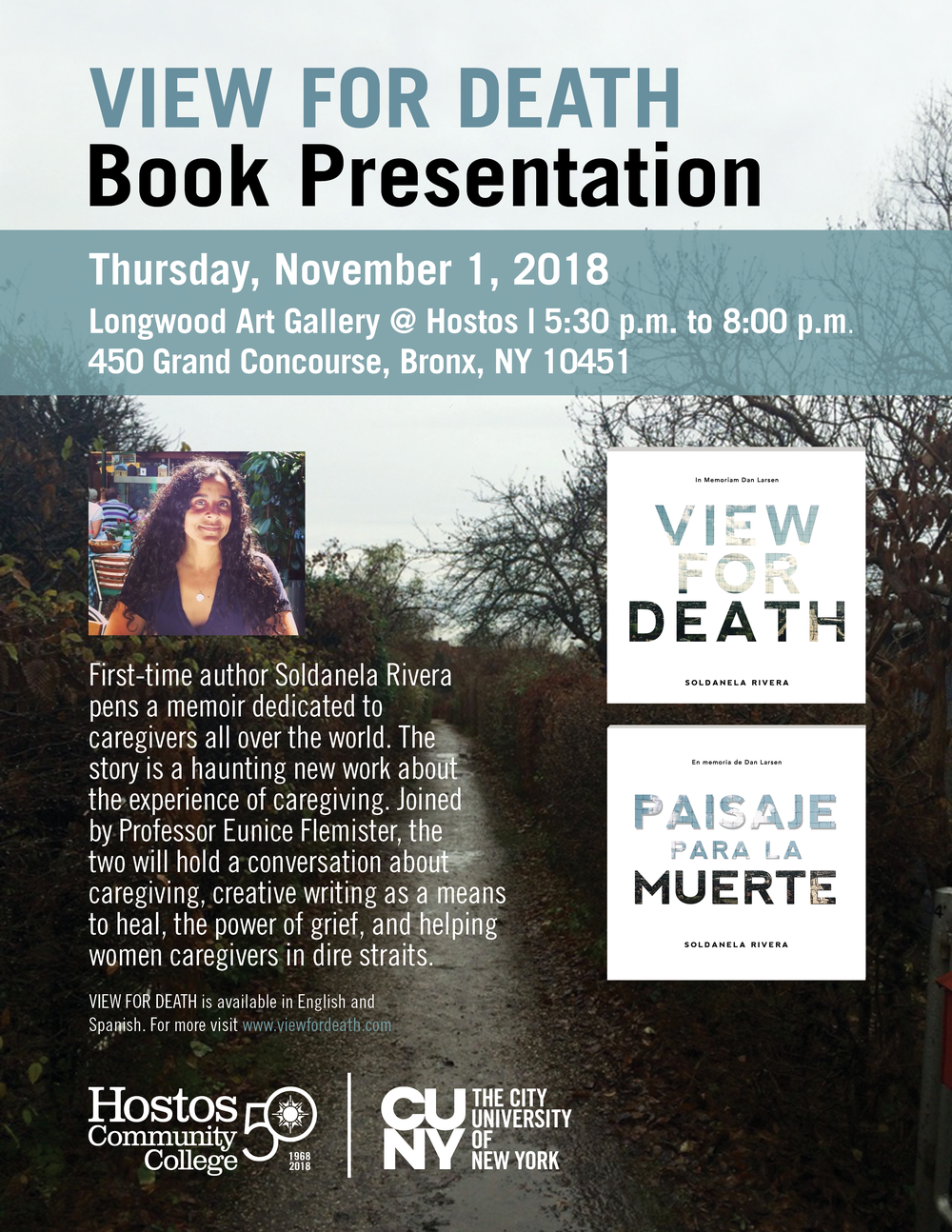 View for Death  Book Presentation HCC 100118 JRGV5.png