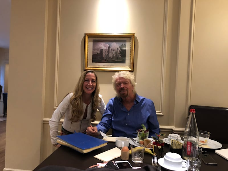Check out the Story of Meeting Richard Branson Here. -