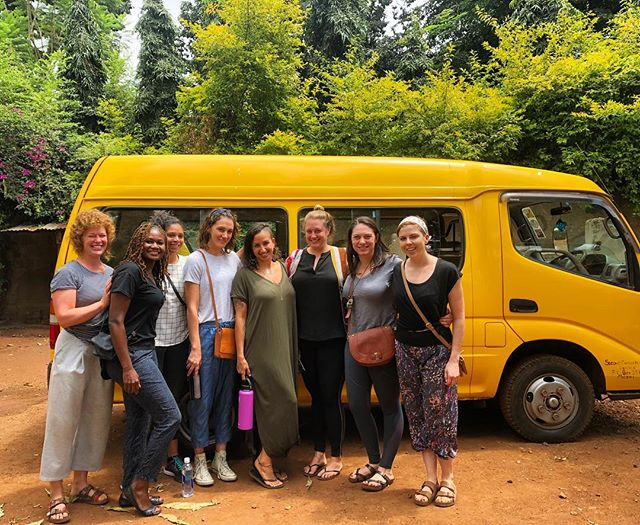 Together We Can ✨ The group has arrived in Tanzania, and they are so excited to spend the week with the kiddos. (Notice the school van we purchased last year? 😍) 💙💙💙• • • • • #rise #risetochange #lifeinafrica #tanzania