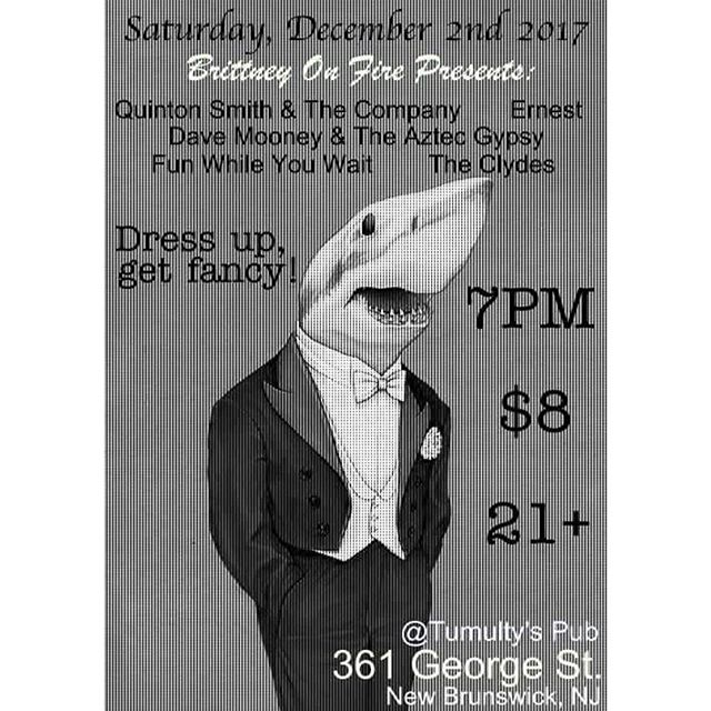 This is tonight let's get fancy New Brunswick #SupportLocalMusic