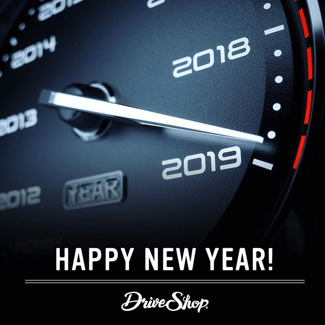 Happy New Year! We hope you have an outstanding 2019!