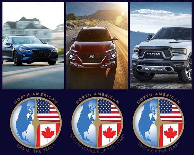 Congratulations to all the nominees and winners (including some DriveShop clients 😉) of the 2019 North American Car and Truck of the Year! This year was packed with new innovations, technology, and design. #NACTOY #NAIAS #NAIAS2019