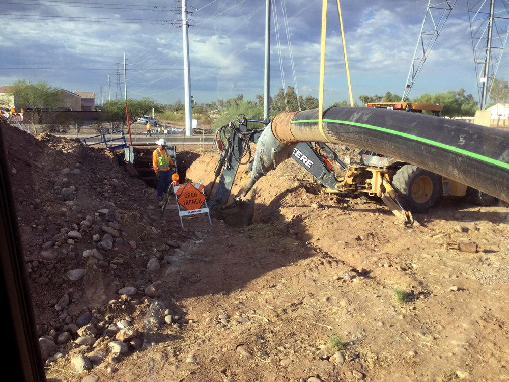 Bell Road Force Main Improvements CMAR