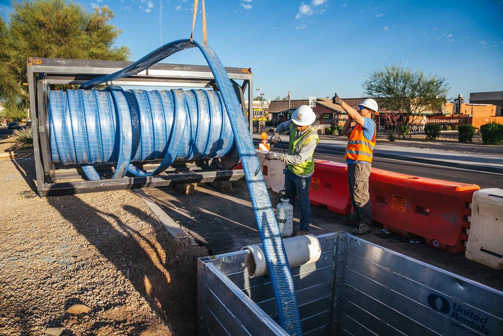 Wet Utility Pipeline Projects JOC