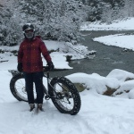 Fat tire riding in Whistler, BC