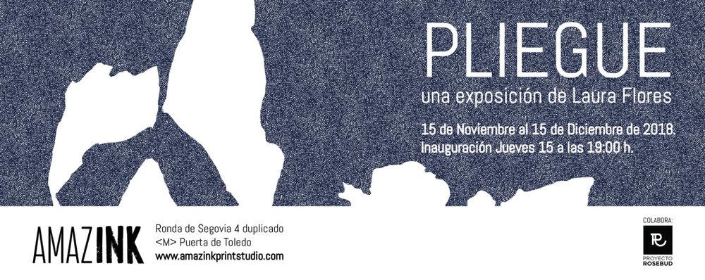 PLIEGUE. EXPOSICION DE LAURA FLORES